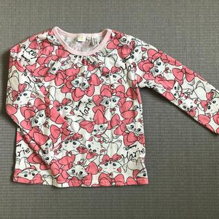 ディズニー(Disney)のDisney マリーの長袖シャツ 100cm(Tシャツ/カットソー)