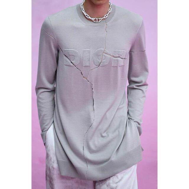 DIOR HOMME(ディオールオム)のDior homme 20ss サマーニット レディースのトップス(Tシャツ(長袖/七分))の商品写真
