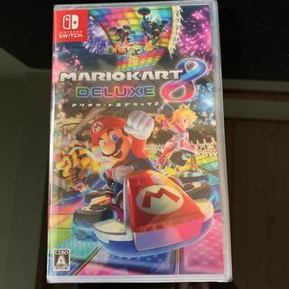 ニンテンドースイッチ(Nintendo Switch)のマリオカート8 デラックス swich 新品未開封(家庭用ゲームソフト)