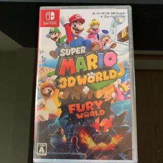 ニンテンドースイッチ(Nintendo Switch)のスーパーマリオ 3Dワールド + フューリーワールド swich 新品(家庭用ゲームソフト)