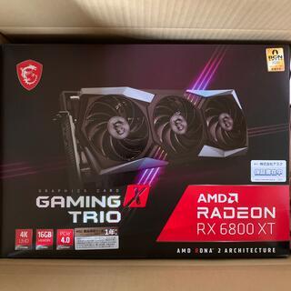 Radeon RX 6800 XT GAMING X TRIO 新品未開封(PCパーツ)