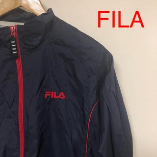 フィラ(FILA)のA7 FILA ナイロンジャケット(ナイロンジャケット)
