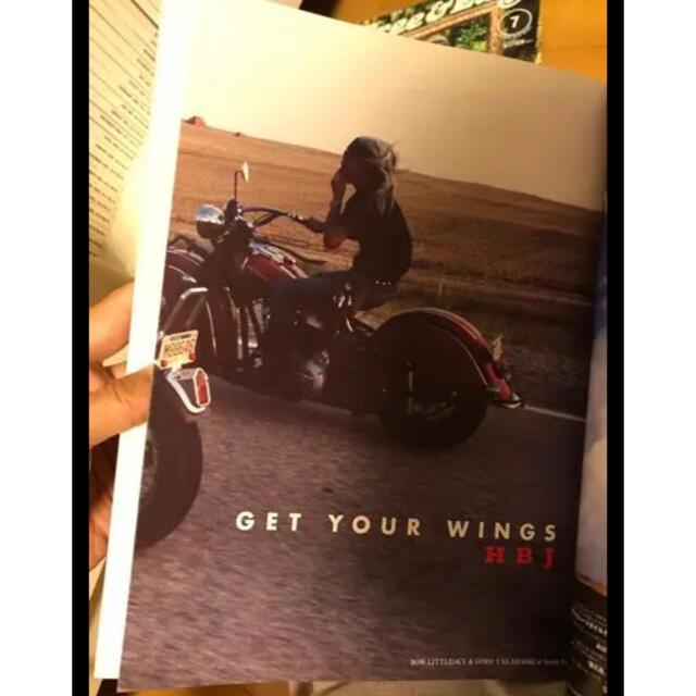 goro's(ゴローズ)のゴローズ  ポスター コンチョ バッグ ベルト 本 高橋吾郎 メンズのアクセサリー(その他)の商品写真