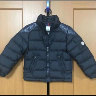 モンクレール(MONCLER)のモンクレール 6Y 110〜120cm ダウン ブラック(ジャケット/上着)