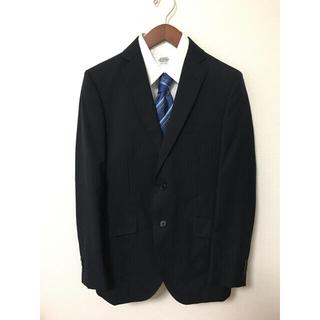 アオキ(AOKI)の極美品 青木 ストライプスーツ セットアップ ビジネス(セットアップ)