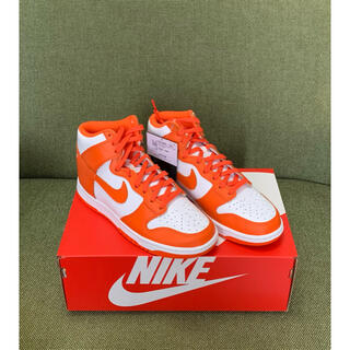 ナイキ(NIKE)の新品 24.0m W NIKE DUNK HIGH ORANGE BLAZE(スニーカー)