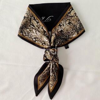 アーバンリサーチ(URBAN RESEARCH)のPython tie scarf black No.181(バンダナ/スカーフ)