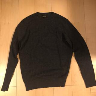 アーペーセー(A.P.C)のR-41 A.P.C  長袖ニット サマーセーター 薄手(ニット/セーター)
