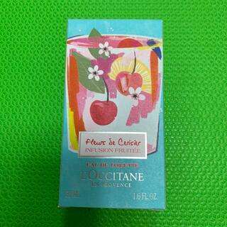 ロクシタン(L'OCCITANE)のロクシタン チェリーライム オードトワレ50ml 新品 (香水(女性用))