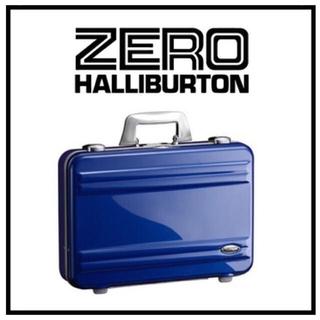 ゼロハリバートン(ZERO HALLIBURTON)のゼロハリバートン ZRA 11 スーツケース アタッシュケース ブルー(ビジネスバッグ)