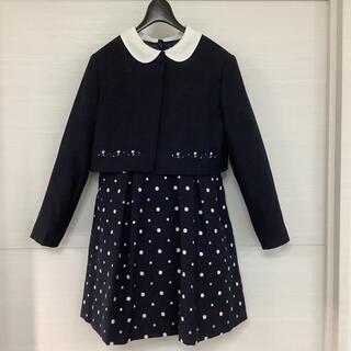 ミキハウス(mikihouse)のmikihouse  130  女の子 セットアップ 入学式 卒園式 発表会(ドレス/フォーマル)