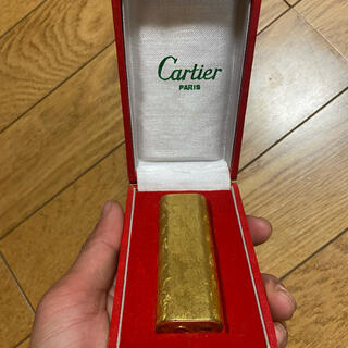 カルティエ(Cartier)のmm様専用 Cartier ライター(タバコグッズ)