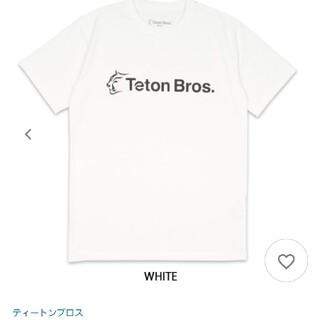 アークテリクス(ARC'TERYX)のティートンブロスTシャツ Sサイズ ホワイト (Tシャツ/カットソー(半袖/袖なし))