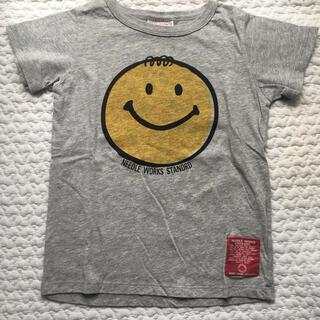 NEEDLE WORK SOON - NEEDLE WORK S グレーTシャツ size120