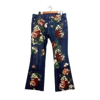 グッチ(Gucci)のグッチGUCCI■422634 XD478フラワー花柄デニムパンツジーンズ(デニム/ジーンズ)