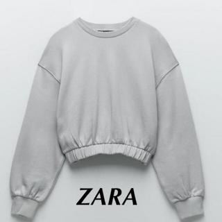 ZARA - ZARA ショート丈スウェット