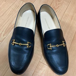 トゥモローランド(TOMORROWLAND)のTOMORROWLAND トゥモローランド ビットローファー 黒(ローファー/革靴)