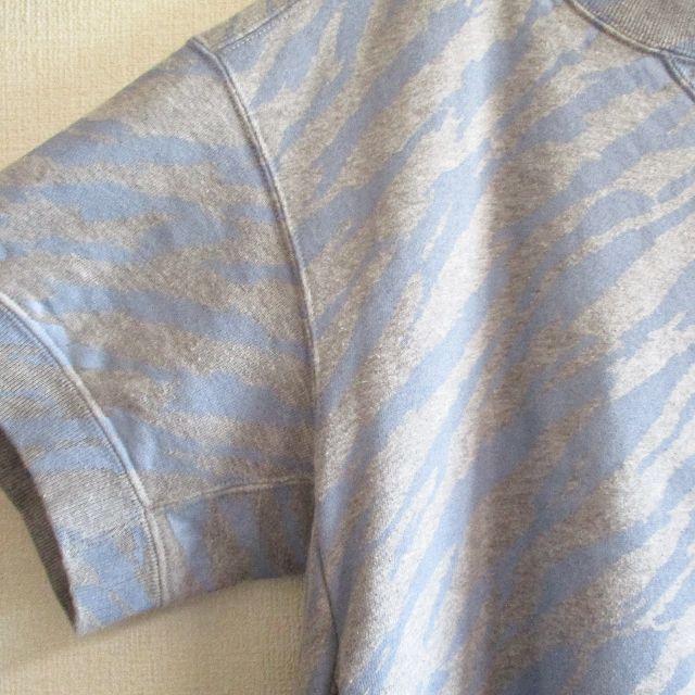 sacai luck(サカイラック)のサカイラック sacai luck ゼブラ柄スウェット 半袖 レディースのトップス(トレーナー/スウェット)の商品写真