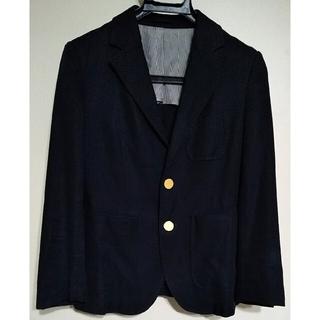 マカフィー(MACPHEE)のMACPHEE 黒のジャケット(ノーカラージャケット)