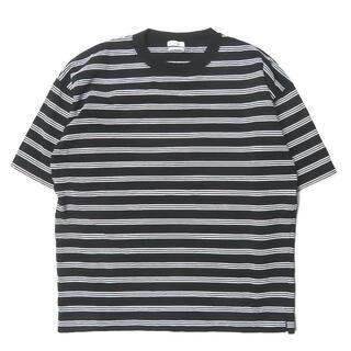 スティーブンアラン(steven alan)のSteven Alan ボーダークルーネックTシャツ S メンズ(Tシャツ/カットソー(半袖/袖なし))