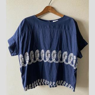 ミナペルホネン(mina perhonen)のミナペルホネン ribbonトップス(Tシャツ(半袖/袖なし))