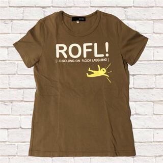 オゾック(OZOC)のOZOC Tシャツ カーキ レディース(Tシャツ(半袖/袖なし))