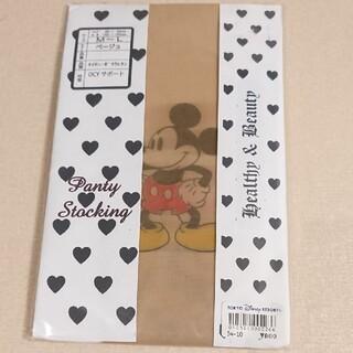 ディズニー(Disney)の日本製 ディズニー ミッキーマウス パンティストッキング パンスト ストッキング(タイツ/ストッキング)