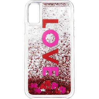 アイフォリア(IPHORIA)の新品】IPHORIA アイフォリア iPhone X  アイフォンケース ハート(iPhoneケース)