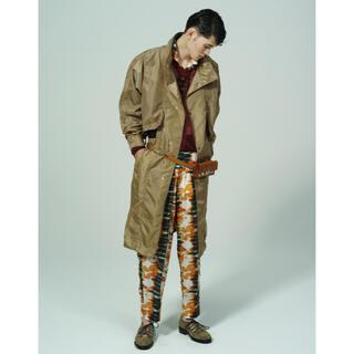 トーガ(TOGA)のTOGA VIRILIS Cupra cotton print pants(スラックス)