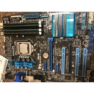 エイスース(ASUS)のASUS p8z68 メモリ12gb cpuセット(PCパーツ)