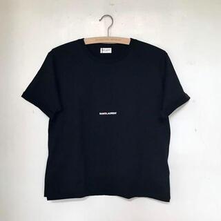 イヴサンローランボーテ(Yves Saint Laurent Beaute)の【新品未使用】 SAINT LAURENT サンローラン Tシャツ ロゴ S(Tシャツ(半袖/袖なし))