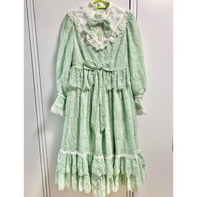 Angelic Pretty(アンジェリックプリティー)のAngelic Pretty Holy Lacy Dollセット レディースのワンピース(ロングワンピース/マキシワンピース)の商品写真