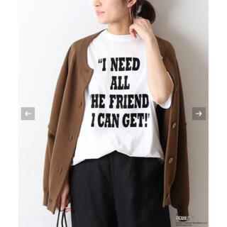 フレームワーク(FRAMeWORK)の【VOTE MAKE NEW CLOTHES】PEANUTS T-SH&PINS(Tシャツ(半袖/袖なし))