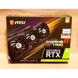 新品未開封 MSI RTX 3060Ti GAMING X TRIO 8G(PCパーツ)