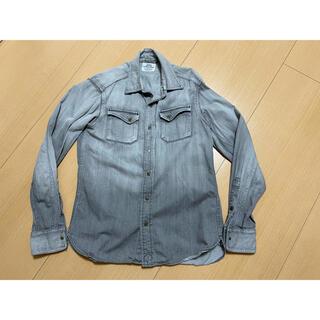 ユナイテッドアローズ(UNITED ARROWS)のユナイテッドアローズ コットンシャツ グレー サイズS(シャツ)