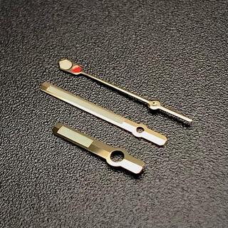 セイコー(SEIKO)のセイコー SEIKO 針 セット カスタム用 社外品 セカンドダイバー ゴールド(腕時計(アナログ))