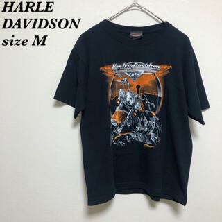 ハーレーダビッドソン(Harley Davidson)のHARLE DAVIDSON ハーレーダビッドソン  Tシャツ お洒落(Tシャツ(半袖/袖なし))