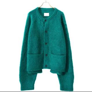 SUNSEA - 【4/18まで】stein 20AW mohair cardigan green
