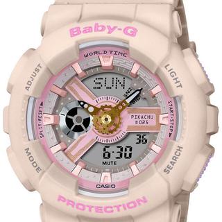 ベビージー(Baby-G)の希少 限定品CASIO Baby-G 腕時計ポケモンピカチュウコラボ 新品未使用(その他)