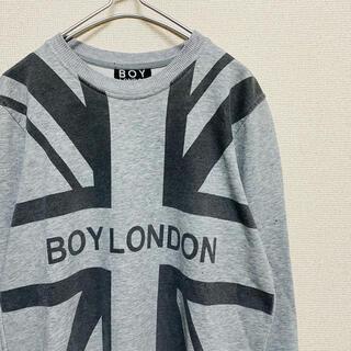 ボーイロンドン(Boy London)の一点物 ボーイ ロンドン(BOY LONDON) ユニオンジャック  スウェット(スウェット)