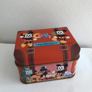ミッキーマウス(ミッキーマウス)のディズニー缶(小物入れ)