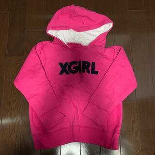 エックスガールステージス(X-girl Stages)のX-girl パーカー120cm(ジャケット/上着)