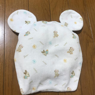 ディズニー(Disney)のディズニー ドーナツ枕 ベビーミッキーミニー 新生児(枕)