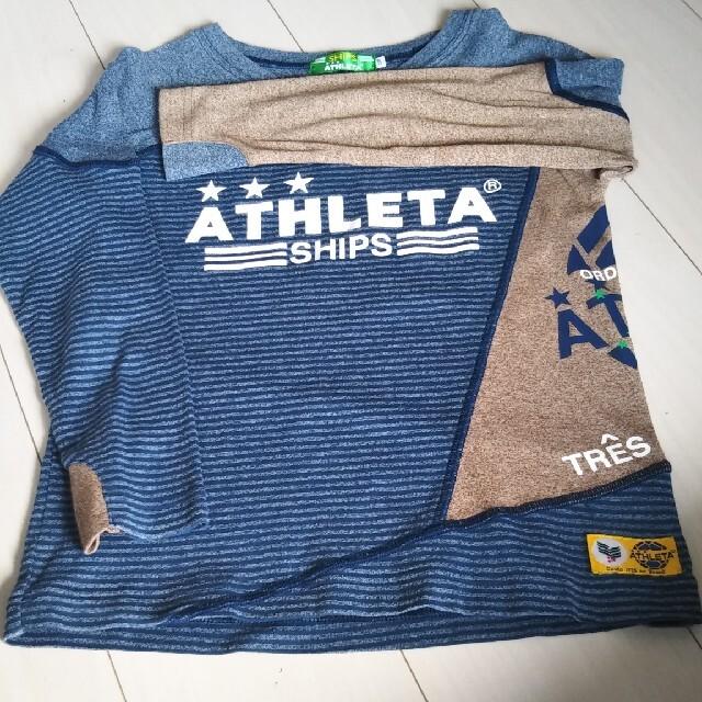 ATHLETA(アスレタ)のアスレタ✕シップス 120Cm キッズ/ベビー/マタニティのキッズ服男の子用(90cm~)(Tシャツ/カットソー)の商品写真