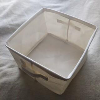 スリーコインズ(3COINS)のコットン スクエア 収納ボックス(ケース/ボックス)