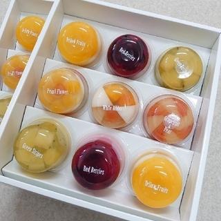 月色様専用(同送分)たかはたファーム ミックスゼリー詰合せ(9個)☓2箱(菓子/デザート)