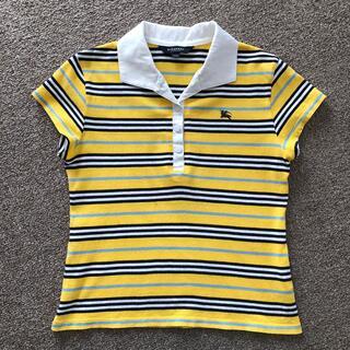 バーバリー(BURBERRY)のバーバリー 150A ガール 黄色カットソー(Tシャツ/カットソー)