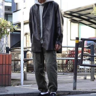 コモリ(COMOLI)の【今期新作】ccu レザーシャツ wagamama別注 3 【半額】(レザージャケット)