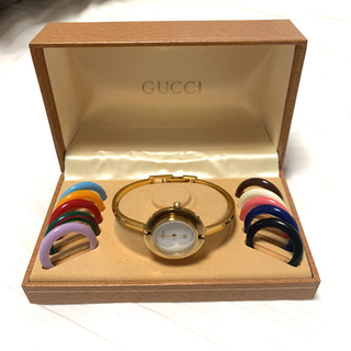 グッチ(Gucci)の☆貴重☆即売り切れ☆GUCCI☆グッチ☆チェンジベゼル☆(腕時計)