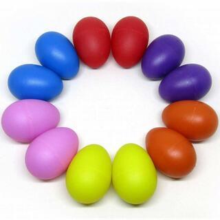 エッグシェーカー 6色 12個セット 卵 マラカス //bvx(パーカッション)